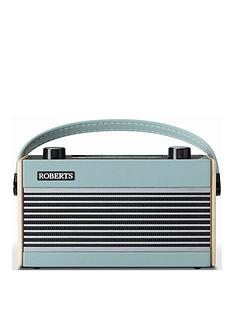 roberts-ramblerbtblu-portable-digital-radio-with-wooden-cabinet-eco-power-saving-mode-and-bluetooth