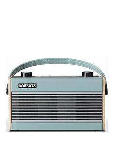 roberts-ramblerbtblu-portable-digital-radio-with-wooden-cabinet-eco-power-saving-mode-and-bluetooth
