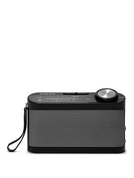 roberts-r9993bk-3-band-portable-battery-radio