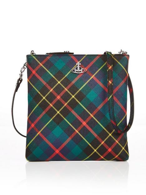 vivienne-westwood-tartan-square-cross-body-bag-green-multi