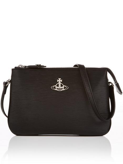 vivienne-westwood-polly-cross-body-bag-black
