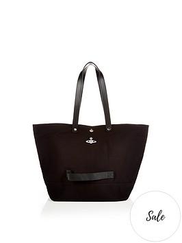 vivienne-westwood-utility-shopper-bag-black