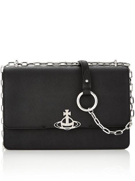 vivienne-westwood-debbie-large-bag-with-flap-black