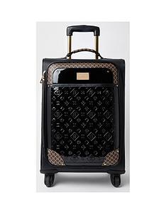 river-island-patent-suitcase-black