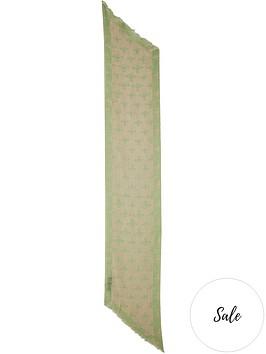 vivienne-westwood-two-point-orb-scarf-beige