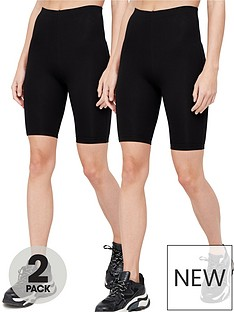 v-by-very-2-pack-cotton-cycling-short-blacknbsp