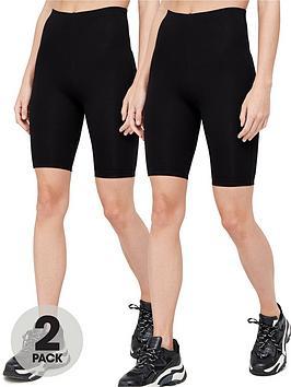 v-by-very-2-pack-cotton-cycling-short-blacknbsp