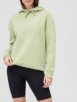 V By Very Oversized Hoodie - Apple Green