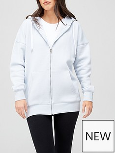 v-by-very-the-oversized-zip-through-hoodie-blue-marl