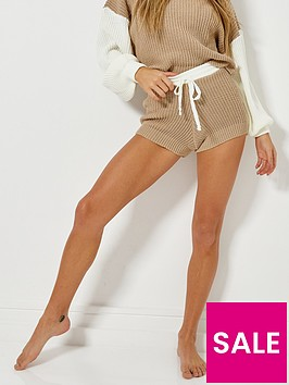 missguided-missguided-colourblock-short-co-ord-stone