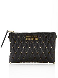 versace-jeans-couture-quilted-cross-body-pouch-bag-black