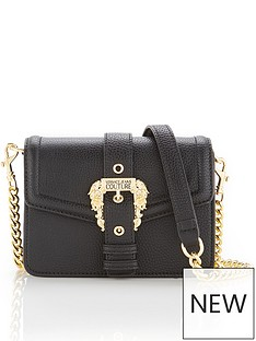 versace-jeans-couture-buckle-crossbody-bag-black