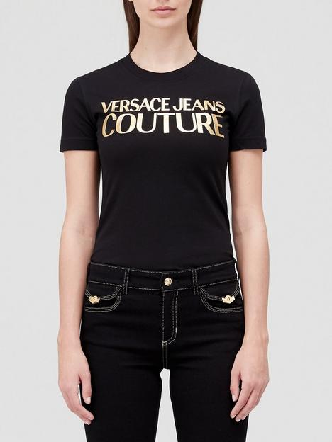 versace-jeans-couture-logo-t-shirt-black