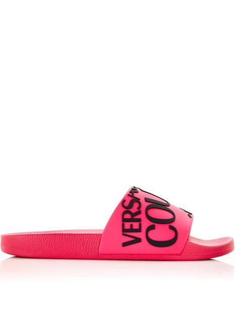versace-jeans-couture-diagonal-logo-slider-pink
