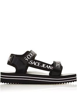 versace-jeans-couture-logo-velcro-slider-black-white