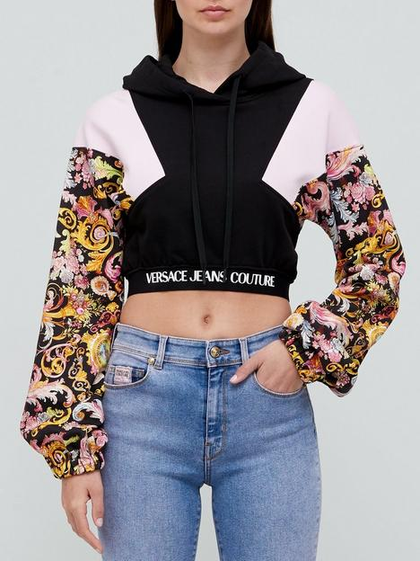 versace-jeans-couture-hooded-print-crop-baroque-sweat-top-multi