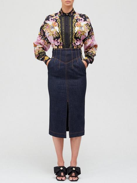 versace-jeans-couture-high-waist-denim-pencil-skirt-indigonbsp