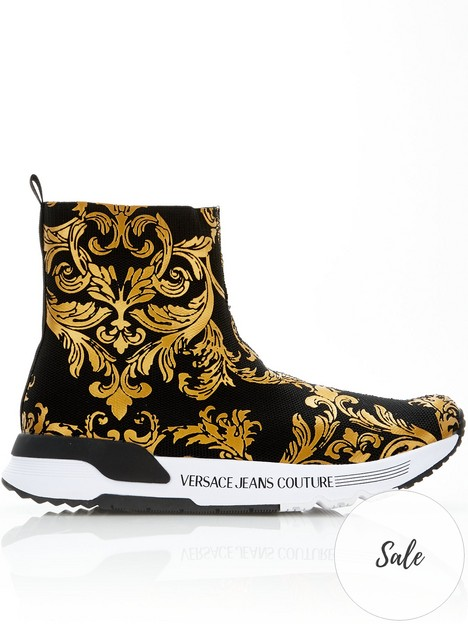 versace-jeans-couture-baroque-print-sock-trainers-black