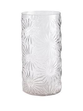 gisela-graham-daisy-glass-vase