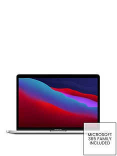 apple-macbook-pro-m1-2020-13-inch-with-8-core-cpu-and-8-core-gpu-256gb-storage-with-microsoft-365-family-included-1-yearnbsp--silver