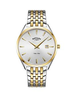 rotary-rotary-ultra-slim-silver-and-gold-detail-date-dial-two-tone-stainless-steel-bracelet-mens-watch