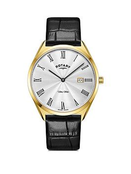 rotary-rotary-ultra-slim-silver-and-gold-detail-date-dial-black-leather-strap-mens-watch