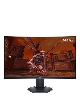 dell-s2721hgf-27in-full-hd-va-curved-1ms-144hz-amd-freesync-nvidia-g-sync-gaming-monitor-3-year-warranty-black