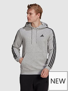 adidas-3-stripe-fleece-hoody