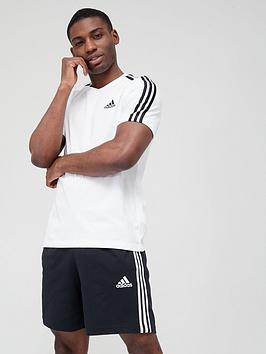 adidas-3-stripes-t-shirt-whiteblack