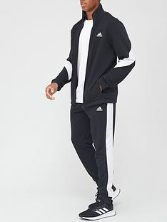 adidas-cotton-tracksuit-black