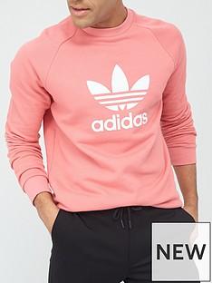 adidas-originals-trefoil-crew-neck-sweat-pink