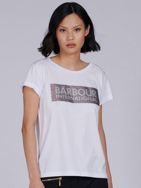 barbour-international-burnout-t-shirt-black-gold