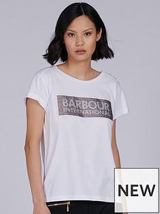 barbour-international-burnout-tshirt