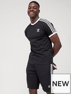 adidas-originals-3-stripe-t-shirt-black