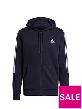 adidas-adidas-cut-3-stripe-full-zip-hoody-navywhite