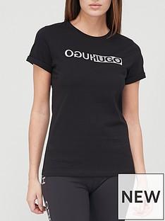 hugo-slimnbsplogo-t-shirt-black