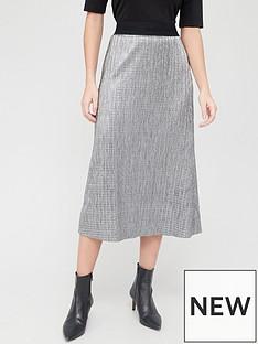 hugo-midi-skirt-silvernbsp