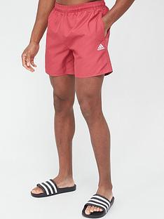adidas-solid-clx-swim-short-pink