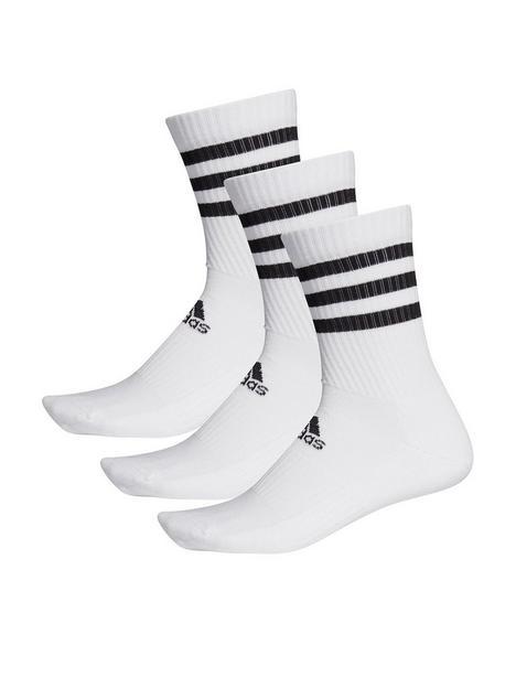 adidas-adidas-3-stripe-cushion-crew-3-pack-white