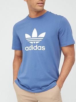 adidas-originals-trefoil-t-shirt-blue