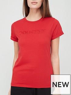 hugo-slim-logo-t-shirt-rednbsp