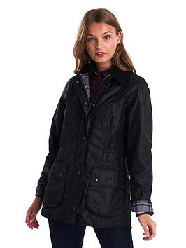 barbour-classic-beadnell-wax-jacket-black