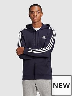 adidas-adidas-3-stripe-fleece-full-zip-hoody