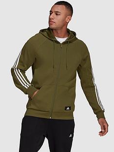 adidas-full-zip-hoodie-green