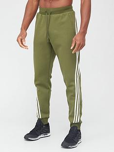 adidas-3-stripe-pants-green