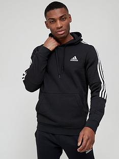 adidas-adidas-cut-3-stripe-hoody-blackwhite