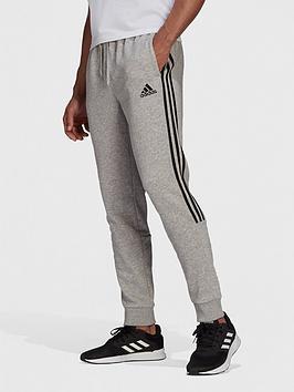 adidas-cut-3-stripe-pant-medium-grey-heather