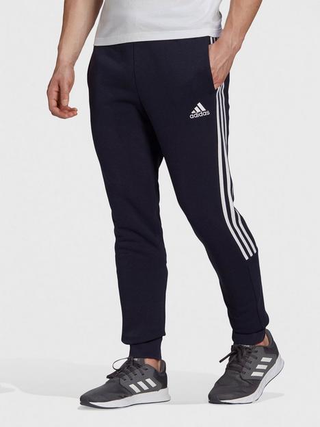 adidas-cut-3-stripe-sweatnbsppants-navywhite