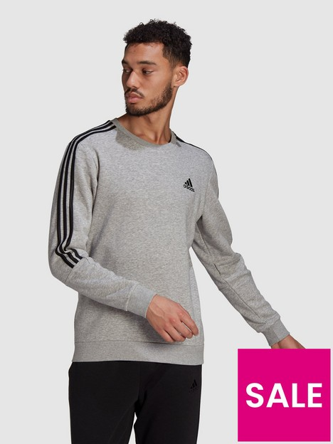 adidas-cut-3-stripe-sweat-top-medium-grey-heather