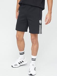 adidas-originals-3dnbsptrefoil-shorts-black